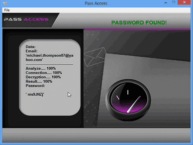 Find a Yahoo password account