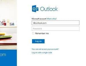 Hack Outlook password