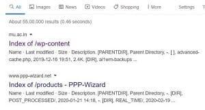 Mot de passe Facebook dans les moteurs de recherches