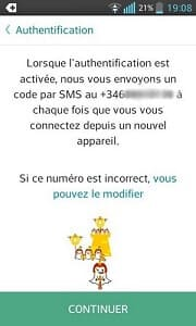 Pirater Snapchat un SMS
